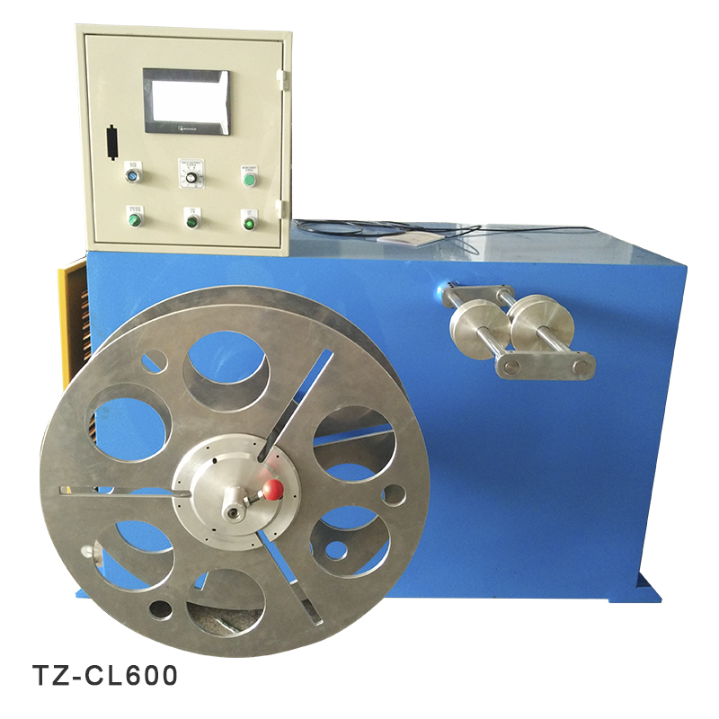 power cable coiling machine