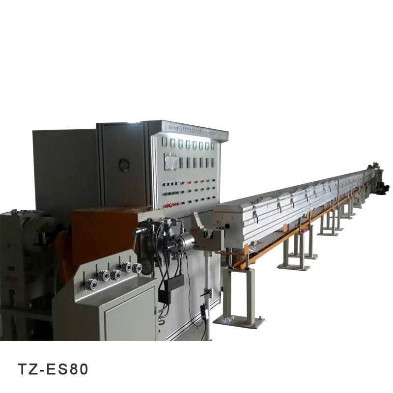 Preparation before use of wire extrusion machine